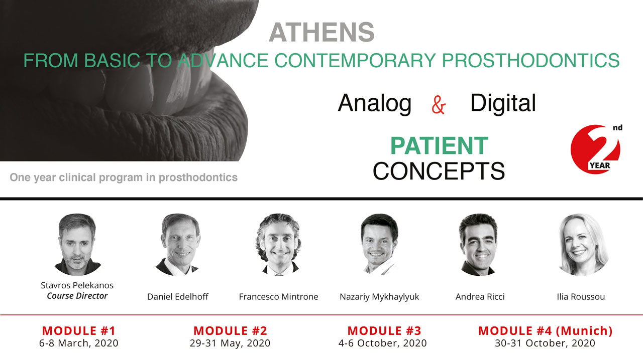 FROM BASIC TO ADVANCE CONTEMPORARY PROSTHODONTICS (2020)